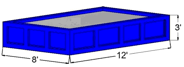10 Cubic Yard Open Top Container
